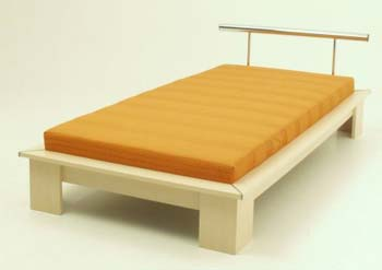 Cadiz Single Bed with mattress