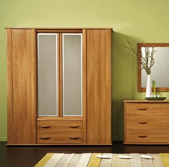 Furniture123 cherie 4 door mirrored wardrobe review for Furniture 123 wardrobes