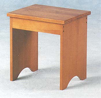 Chevron Dressing Table Stool