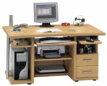 Furniture123 Computer Powerline 240 Desk Office Desk