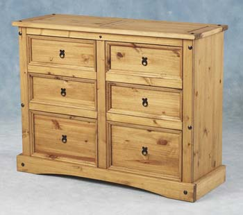 corona chest of 6 drawers