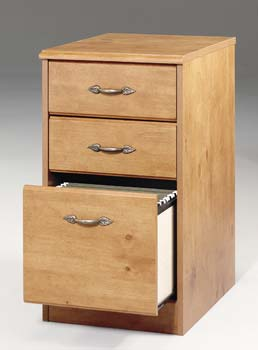 French Gardens 3 Drawer File - 10551