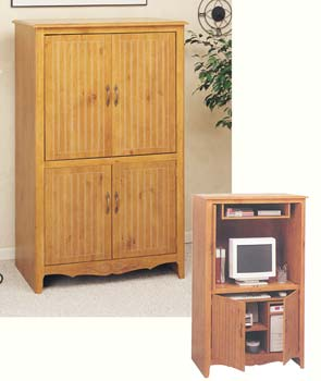 French Gardens Computer/Media Cabinet - 11445