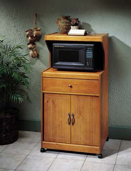 French Gardens Mobile Microwave Cart - 30439