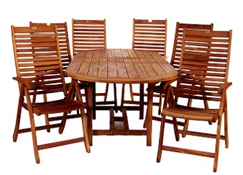 This fantastic outdoor dining set is just the thin - CLICK FOR MORE INFORMATION