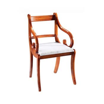 Furniture123 Georgian Reproduction Regency Carver Chairs (pair) product image