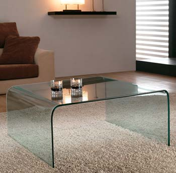 Furniture123 Gustav 01 Square Glass Coffee Table Free 48 Review Compare Prices Buy Online
