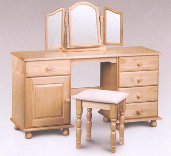 Hamilton Twin Pedestal Dressing Table