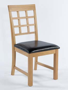 Furniture123 Hugo Oak Dining Chairs (pair) product image