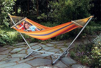 Hammocks make you happy! The number of fans of the genuine Brazilian hammock is growing steadily all over the world and its not hard to see why. These `swings of the gods` are the perfect place to relax and watch the world go by. Unlike other product - CLICK FOR MORE INFORMATION