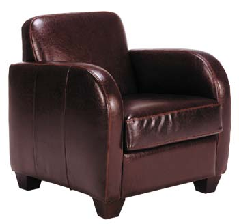 Madrid Leather Armchair
