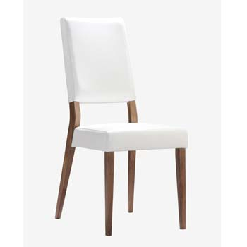 Erica Leather Dining Chair Pair