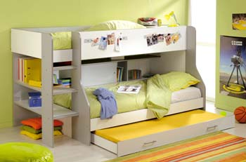 Bunk Bed Frame In Silver
