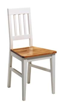 New York Chair in White Stain