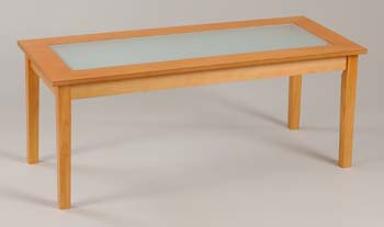 Newark Coffee Table in Maple