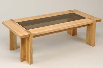 Furniture123 Nexus Glass Top Coffee Table In Light Oak Coffee Table Review Compare Prices