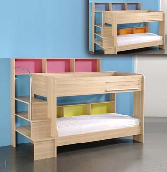 Bunk beds furniture123 pop bunk bed with dr for Furniture 123 bunk beds