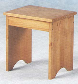 Portland Dressing Table Stool