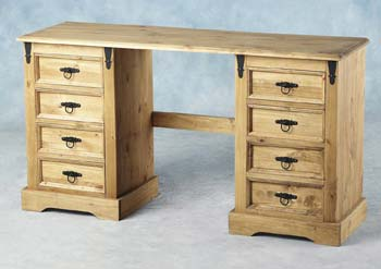 Ramona Double Pedestal Dressing Table