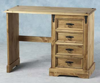 Ramona Single Pedestal Dressing Table