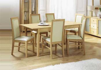 Furniture123 riga maple butterfly dining set dining room for Furniture riga