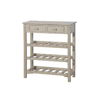 Rochelle Grey Wine Rack