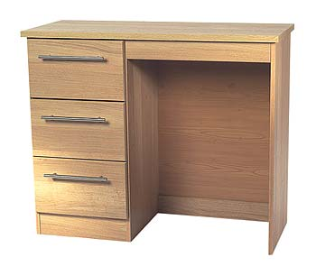 Sherwood Oak 3 Drawer Dressing Table