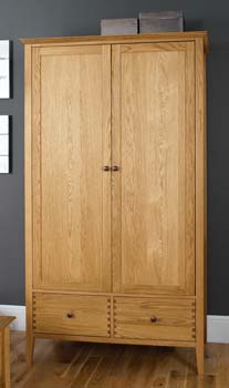 Contemporary oak range wardrobes for Furniture 123 wardrobes