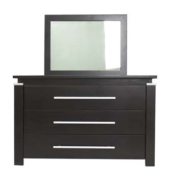Studio 3 Drawer Dressing Table with Mirror