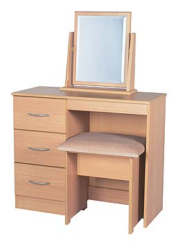 Tara Ramor 3 Drawer Dressing Table