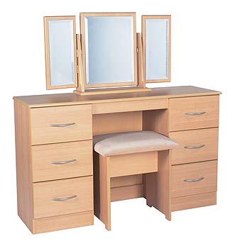 Tara Ramor 6 Drawer Dressing Table