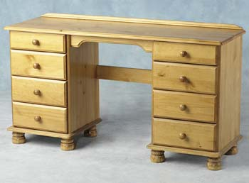 Vanessa Double Pedestal Dressing Table