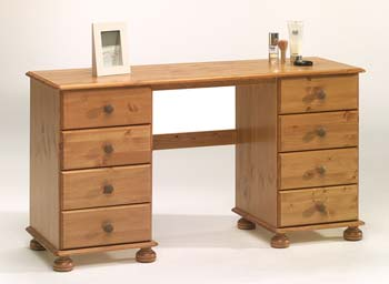 Wessex Double Pedestal Dressing Table