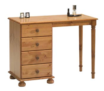 Wessex Single Pedestal Dressing Table