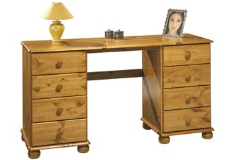 Woking Twin Pedestal Dressing Table