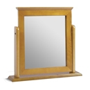Amalfi Pine Single Mirror