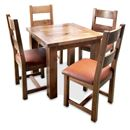 FurnitureToday Brooklyn Reclaimed Oak Square Dining Set product image