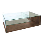 FurnitureToday Glass and wood coffee table Marbo product image