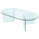 FurnitureToday Glass angle coffee table product image