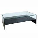FurnitureToday Glass black coffee table 59980BHZ product image