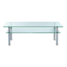 FurnitureToday Glass coffee table 59058HRV product image
