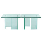 FurnitureToday Glass coffee table set product image