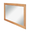 FurnitureToday Hereford Oak Small Wall Mirror