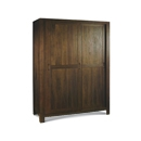 FurnitureToday Lyon Walnut Sliding Door Wardrobe product image