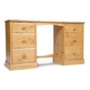FurnitureToday One Range Pine Double Dressing Table