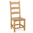 FurnitureToday Tarka Solid Beech Amish Dining Chair product image