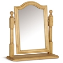 Tarka Solid Pine Single Arch Top Mirror