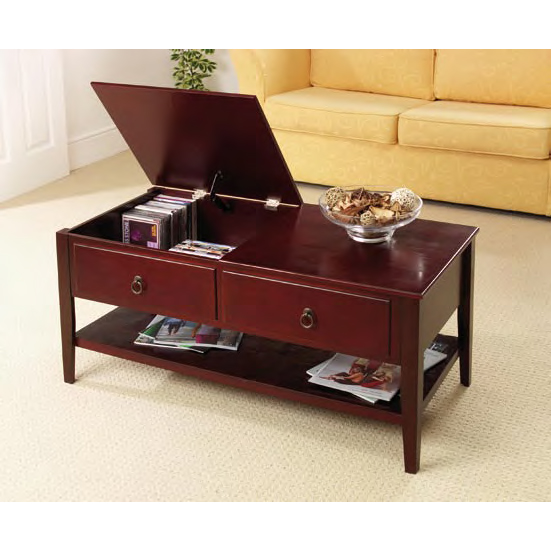 Coffee Table With Storage Uk: Mahogany Coffee Tables