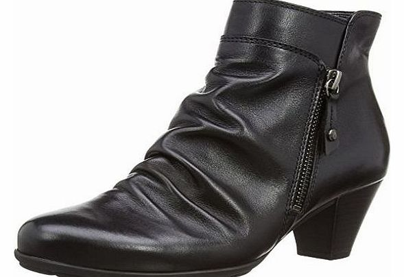 Gabor Womens Lexy Boots 95.641.27 Black Leather 6 UK, 39 EU product image