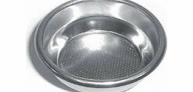 Gaggia Stainless Steel 2 Cup Filter Basket Not Pressurised for Gaggia Espresso Coffee Machines product image